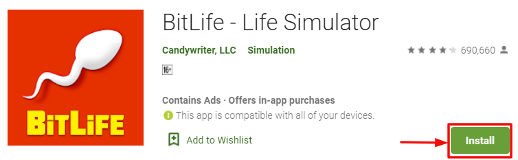 BitLife for PC Download Using BlueStacks
