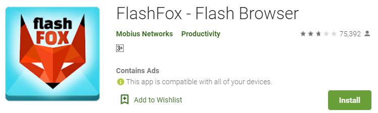 FlashFox _Flash Browser for Windows