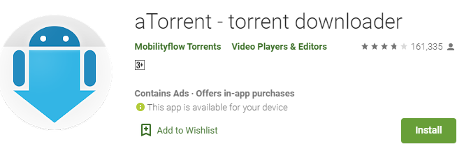 aTorrent for PC