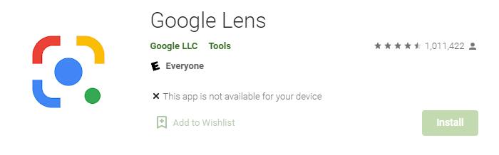 Google Lens for Windows