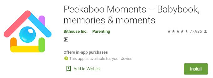 Peekabpo Moments for Windows